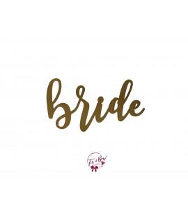 Word Bride (Golden)