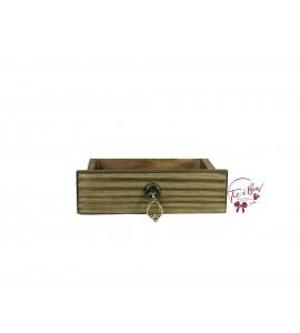 Wood: Mini Rustic Drawer