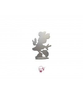 Silver Minnie Silhouette