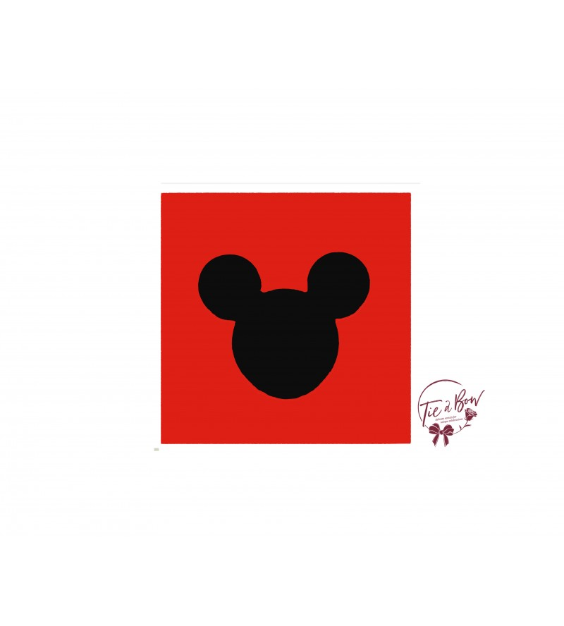 Disney Riser: 6 Inches Red With Mickey's Head
