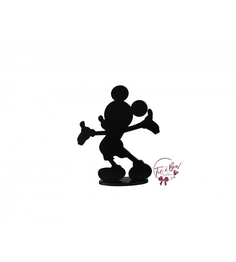 Black Mickey Silhouette