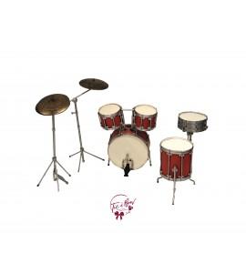 Miniature Drum Set