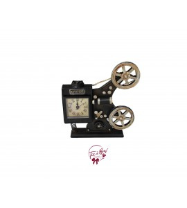 Movie Film Camera Clock