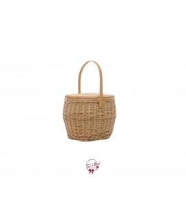 Basket: Oval Insulated Picnic Basket
