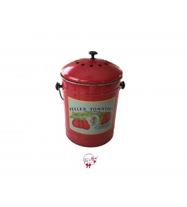 Tomato Canister