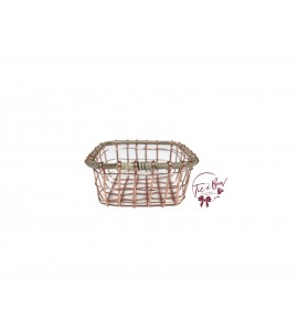 Basket: Rose Gold Wire Basket (Small)