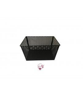Basket: Black Metal Basket (Medium)
