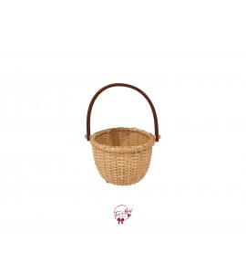 Basket: Rattan Basket Small