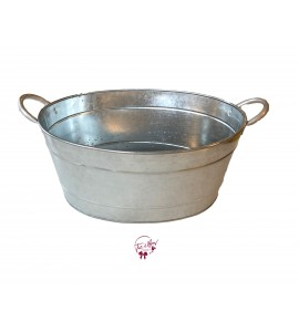 Galvanized Beverage Tub