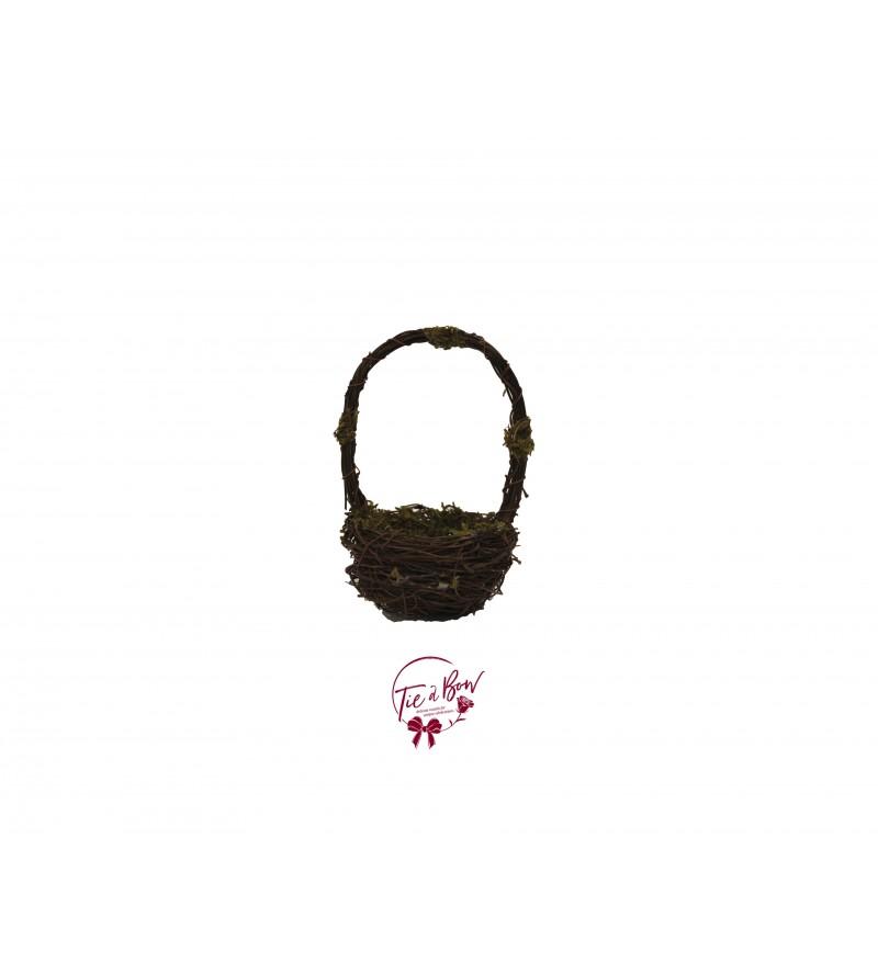 Basket: Mini Mossy Vine Basket