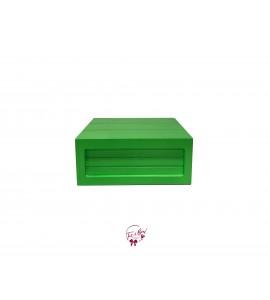 Green: Neon Green Riser Box (Medium)