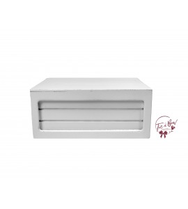 White: Medium White Riser Box