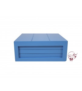 Blue: Medium Sky Blue Riser Box