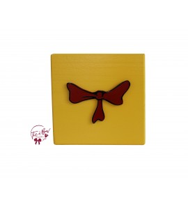 Dr. Seuss Riser: 6 Inches Yellow Bow