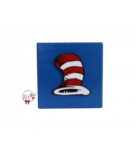 Dr. Seuss Riser: 6 Inches Blue Hat