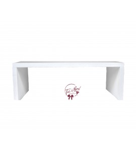 White Tray Riser (Large)