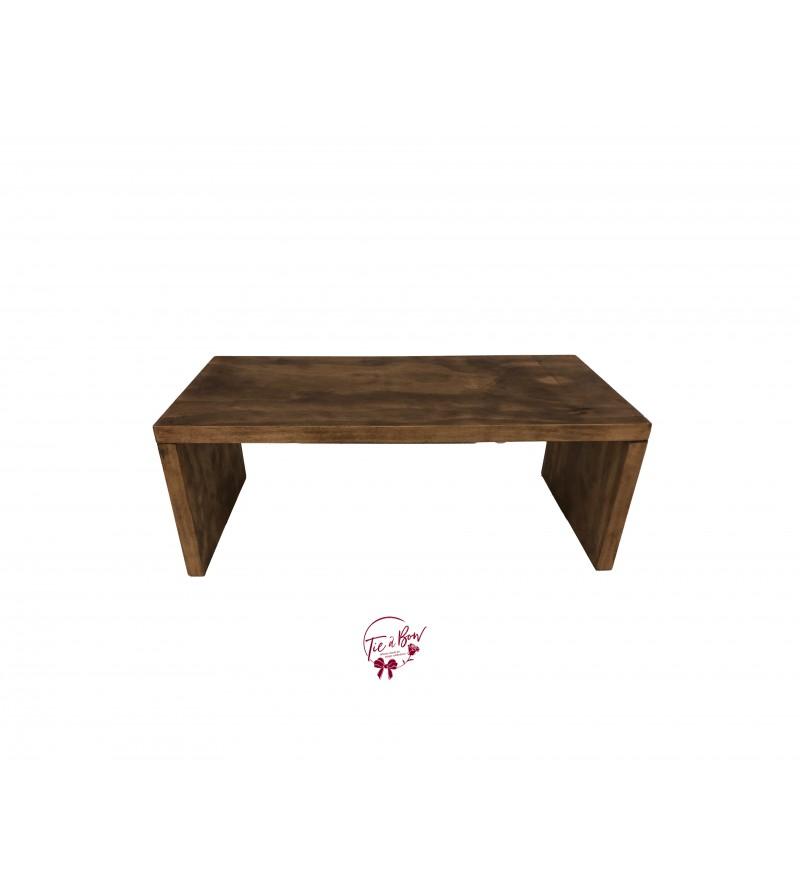 Wood Tray Riser (Large)