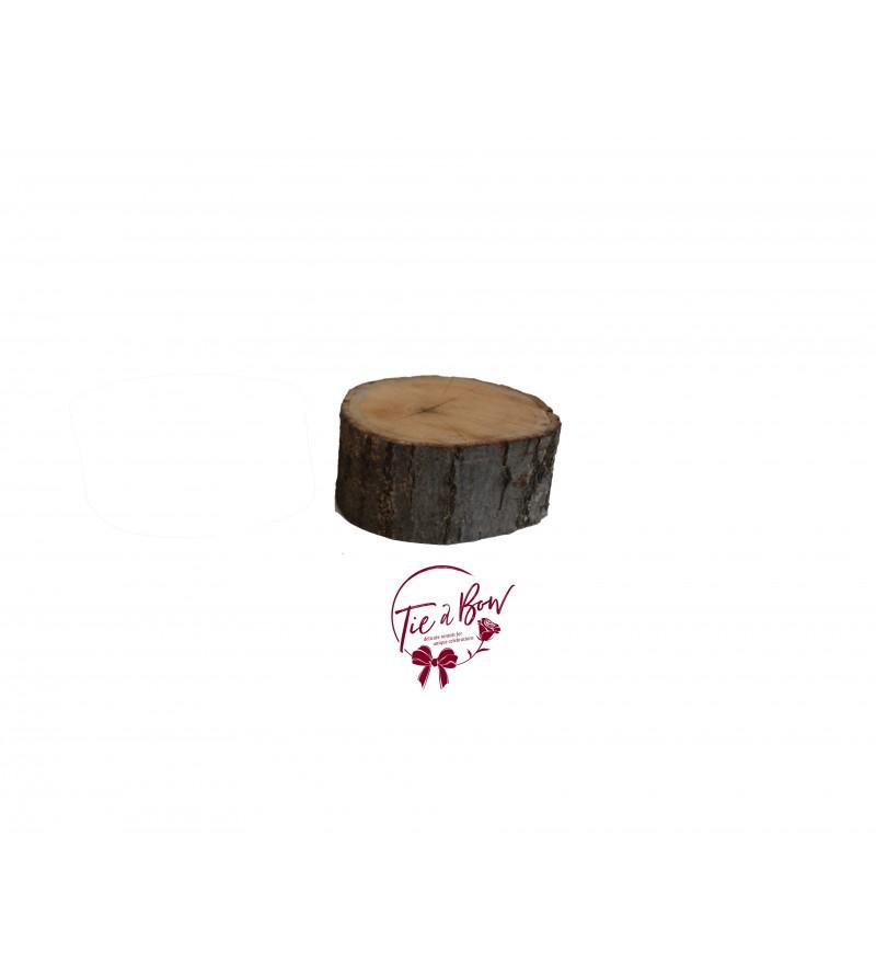 Wood: Small Stump Riser
