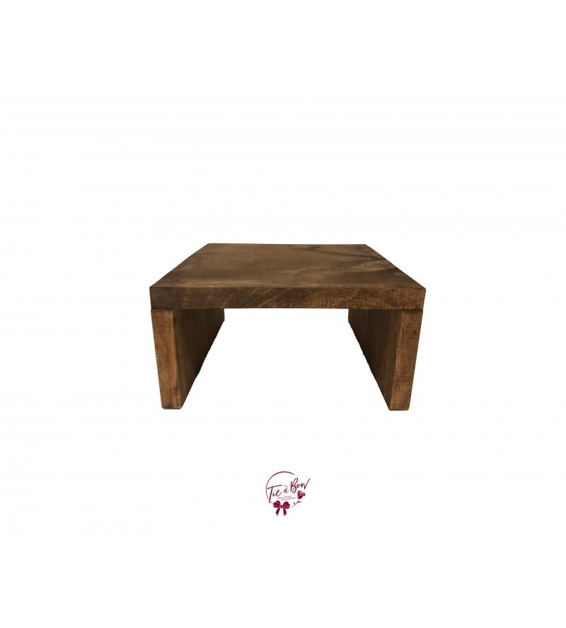Wood Tray Riser (Small)