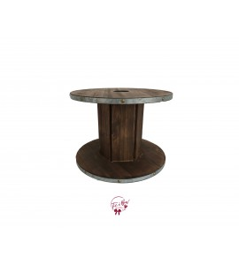 Wood: Wooden Spool Riser (Large)