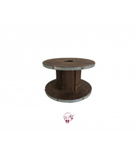 Wood: Wooden Spool Riser (Medium)