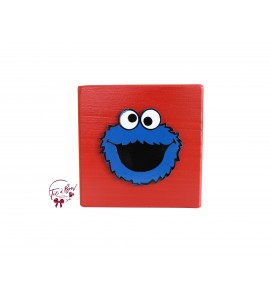 Sesame Street Riser: 6 Inches Red Cookie Monster