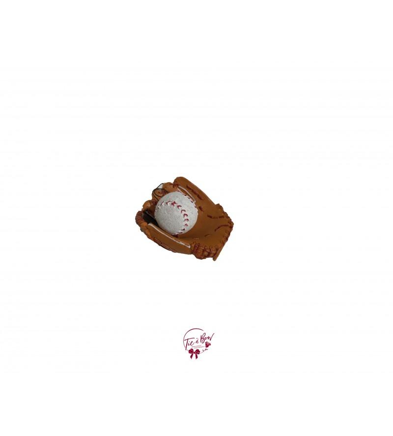 Baseball Glove and Ball
