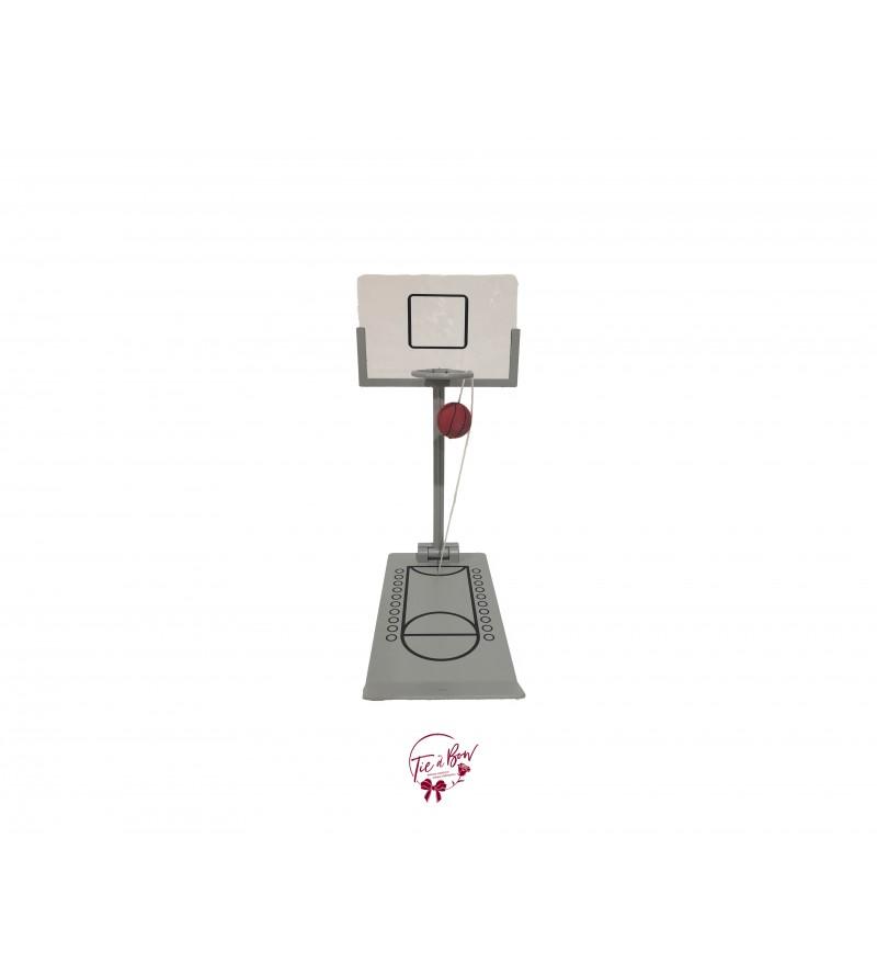 Basketball Basket and Mini Court