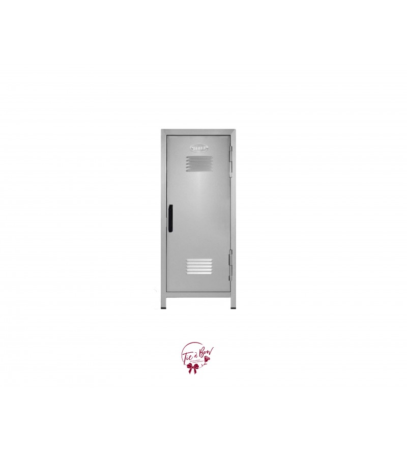 Metal Locker Silver (Mini)