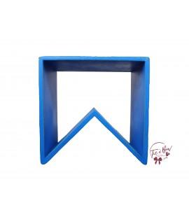 Blue: Royal Blue Angled Stool