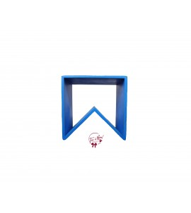 Blue: Royal Blue Angled Stool