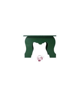 Green: Forest Green Colonial Stool