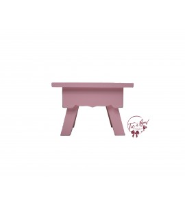 Pink: Light Pink Mini Stool