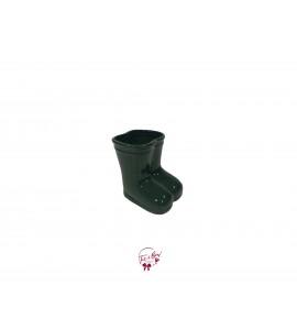 Rain Boots: Mini Dark Green