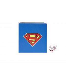 Superhero Riser: 6 Inches Royal Blue Superman