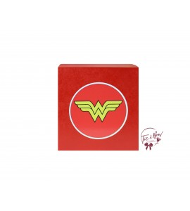 Superhero Riser: 6 Inches Red Wonder Woman