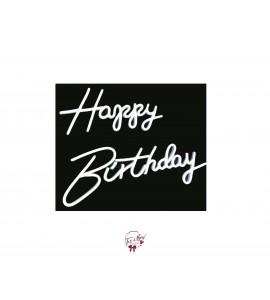 Happy Birthday Neon Sign