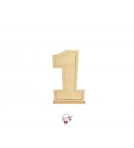 Number 1 Freestanding Floor (Light Wood)