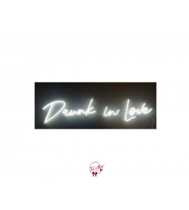 Sign: Drunk in Love Neon Sign