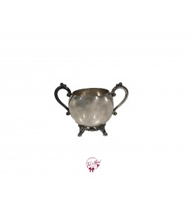 Bowl: Silver Sugar Bowl (Medium)