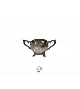 Bowl: Silver Sugar Bowl (Small)