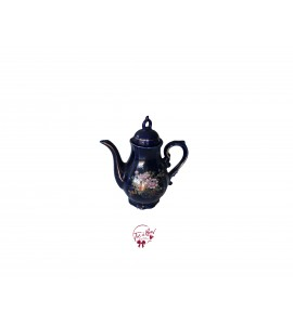 Tea Pot: Cobalt Blue Tea Pot