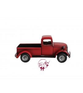 Truck: Vintage Red Truck