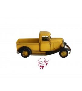 Truck: Vintage Yellow Truck