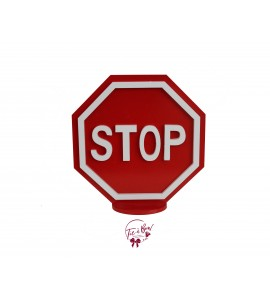 STOP Sign Silhouette