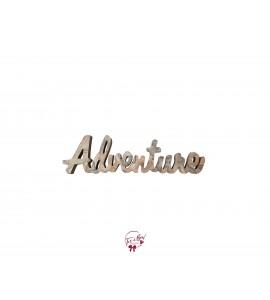 Sign: Adventure