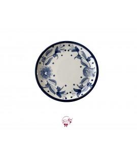 Blue Caprese Plate