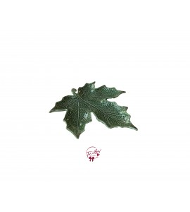 Green: Sage Green Leaf Shaped Plate