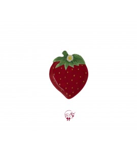 Plate: Strawberry Shaped Plate