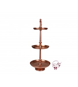 Rose Gold: Rose Gold 3 Tier Tray
